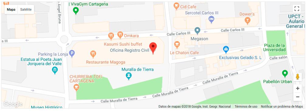 Mapa RC Cartagena